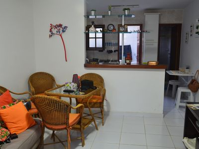 Photo for Beautiful triplex house 400 meters from the beach Peró - 2 suites