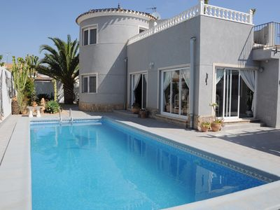 Photo for Detached villas with private pool, (2-9) Pers. beach in an exclusive area