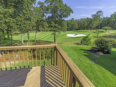 Photo for Lovely home on 14th Green at Diamante Golf Course. Furnished enclosed porch overlooks green. Hot Springs Village Golf Resort