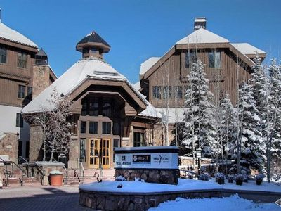 Photo for A Great Get Away! Luxury Studio At The Hyatt Mountain Lodge (1/25/20 - 2/1/20)