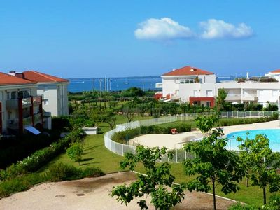 Photo for 3 pieces in beautiful residence, panoramic sea view, beach at 50m