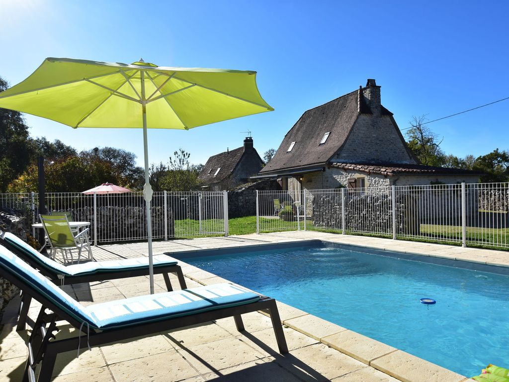 Authentic Holiday Home With Private Swimming Pool And Stunning View In France Gramat Midi
