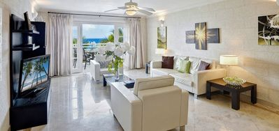 Photo for Waterside 303  -  Beach Front - Located in  Magnificent Saint James with House Cleaning Included