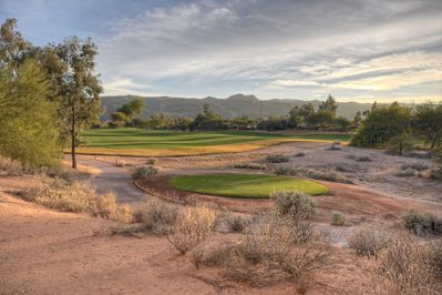 Spectacular views of Legacy Golf Course and South Mountain