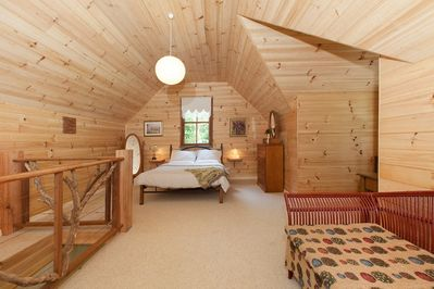 Large attic bedroom