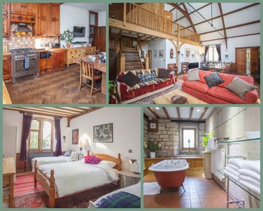 Photo for Quirky Converted Chapel near Bath, sleeps 13 with masses of room (EC)