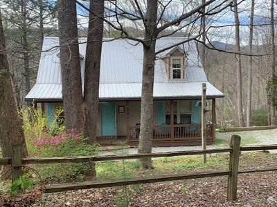Photo for Serenity and  birdsong in mountains with proximity to Chimney Rock & Asheville