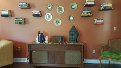 Photo for Cozy, eclectic, private Mid-Town Bungalow w/ a Ping-Pong Table & Piano!