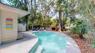 Photo for Large Home with Private Pool Close to Beach Access Path!