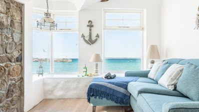 Photo for Lantern Loft is a sea front cottage in the heart of St Ives, very short walk to harbour front. Free WiFi