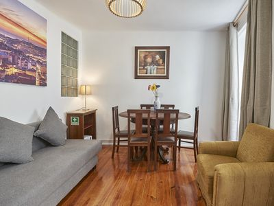 Photo for Chiado Duque 55, 2nd floor, 3 Bedroom flat in the historical center of Lisbon