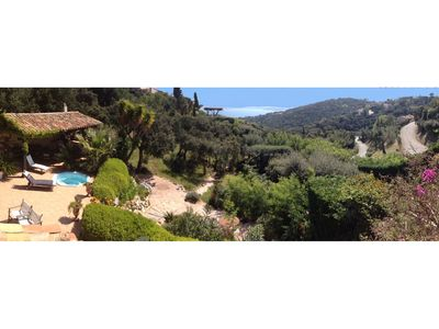 Photo for CHARMING VILLA VIEW St Tropez JACCUZI IN SECURE AREA