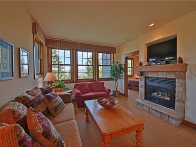 Photo for Charming ski condo in Granby Ranch with inspiring mountain views
