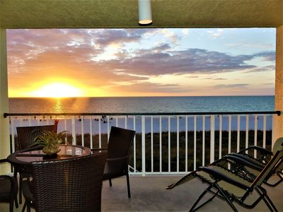 Photo for Beachfront condo with 2019 updates,  Full panoramic view & Many Extras