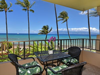 Photo for Beautiful Blue Oceanfront Views! Amazing Location! Fall Specials.