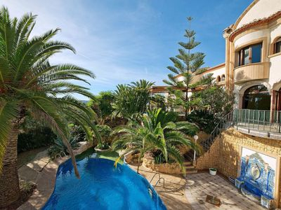 Photo for Beautiful private villa with A/C, private pool, WIFI, TV, balcony, pets allowed and parking