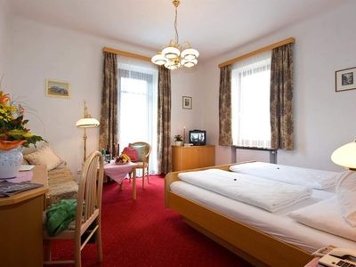 """Photo for Double room """"type A"""" with bath / shower, WC, balcony - Winkler, spa and sports hotel"""