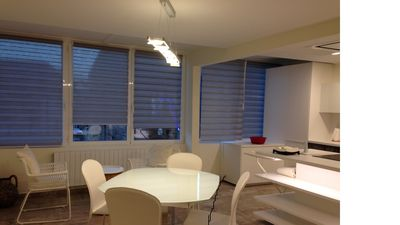 Photo for air-conditioned apartment in the city center with parking