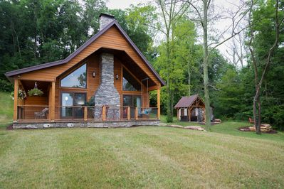 The Oasis Retreat Cabin In Ohio S Amish Country Millersburg