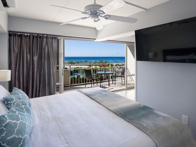 Fully Renovated, 1 Bedroom High End Designer Remodel, Direct Ocean & Lagoon View