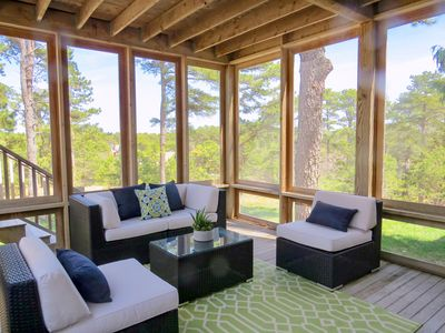 Photo for New Listing! Striking Home w/ Marsh Views, Multiple Living Areas, Near Bay