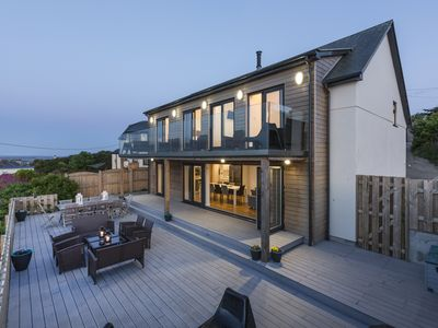 Photo for Luxury 5 Bedroom House in St Ives - Hot tub, parking, WIFI, Stunning views
