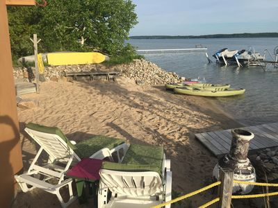 Photo for THIS IS THE 1 <3 Crystal Lake Cottage w/ AMAZING Prvt Sandy Beach & Lake Bottom!