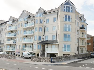 Photo for Ocean View Apartment, RHOS-ON-SEA