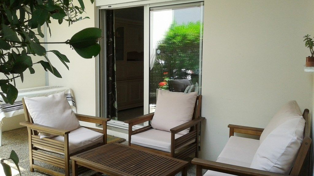 Pleasant Apartment With A Garden And A Parking 1 Br