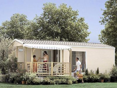 Photo for Camping Domaine de Léveno **** - mobile home 4 people - 4 places 2 bedrooms (0 to 5 years)