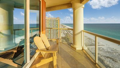 Photo for P1-1801 Gorgeous Gulf Front Portofino 3B Condo