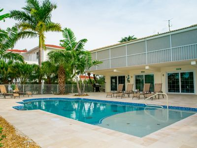 Photo for 4 bedroom/3 bathroom on Canal with 80' dock!, NEW HEATED SWIMMING POOL 16' x 35'