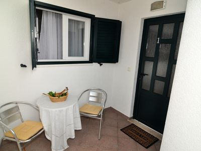 Photo for Spacious apartment for 4+3 people located in Seget Vranjica