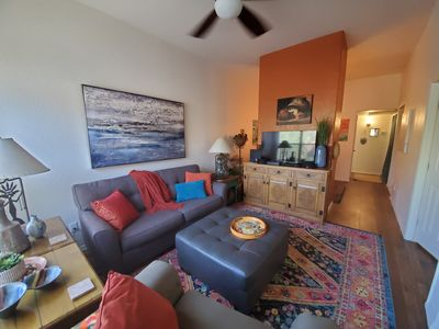 Photo for Taste of Tucson and Mountain Views in this 1 bedroom with Den