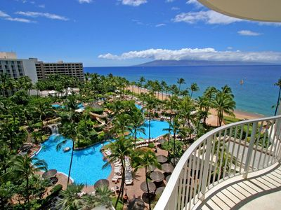 Photo for CHRISTMAS SPECIAL,  Kaanapali Oceanfront LUXURY RESORT w/  Ocean View