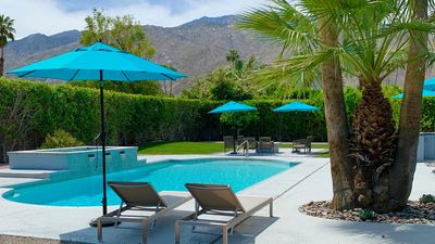 Photo for Secluded and Luxurious 4BR/3.5BA, Two Master Suites, Pool/Jacuzzi, Bocce Ball Ct
