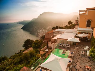 Photo for Gourgeous View Relaxing Villa Infinity Pool on the Top of Positano