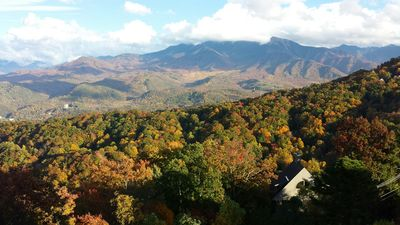 View from Deck Mt. LeConte...