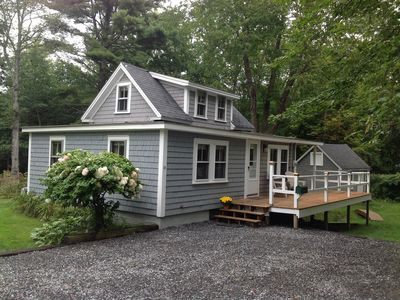 Photo for Cozy Boothbay Harbor Cottage in Country-like Setting, Walking Distance to Harbor