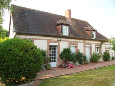 Photo for Your country house with tennis and swimming pool at 1h30 from Paris (9/12 sleeps)