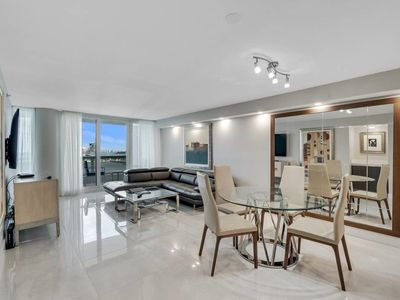 Photo for Grand 1233 | Downtown Miami | Deluxe 2BR | Direct Ocean View + Balcony