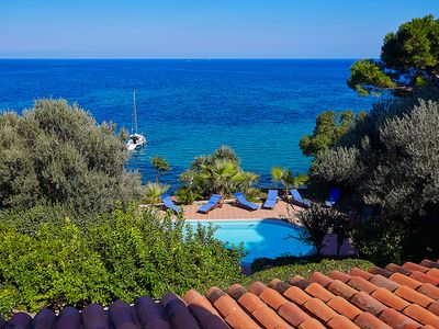 Photo for Villa Acquamarina with pool and access to the sea