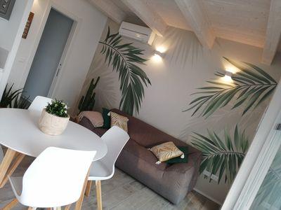 Photo for BRAND NEW-BEAUTIFUL TERRACE-QUIET AND COMFORTABLE POSITION AT THE SEA