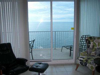View of Gulf of Mexico from Livingroom
