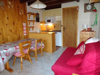 Photo for Apartment Champagny-en-Vanoise, 2 bedrooms, 4 persons