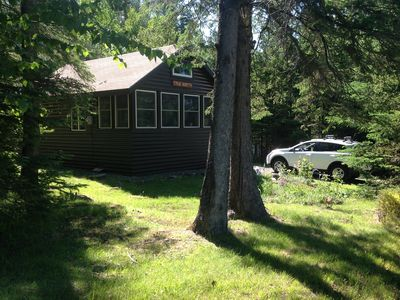 Photo for Cozy Cabin on  hill near Rangeley lakes and Saddleback Mountain