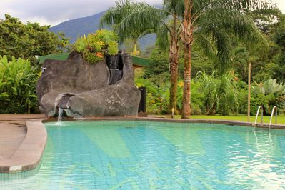 Natural Hot Springs pool at Arenal Manoa Hotel