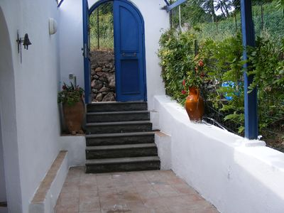 Photo for independent studio in Aeolian style villa in absolute tranquility