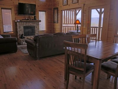 Photo for Luxury atop a mountain, with serene views of the Great Smoky Mountains.