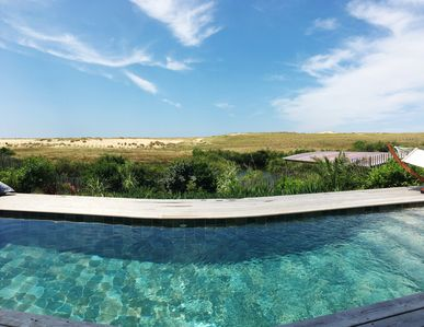 Photo for Stunning brand new contemporary house 5* behind the dune - Pool